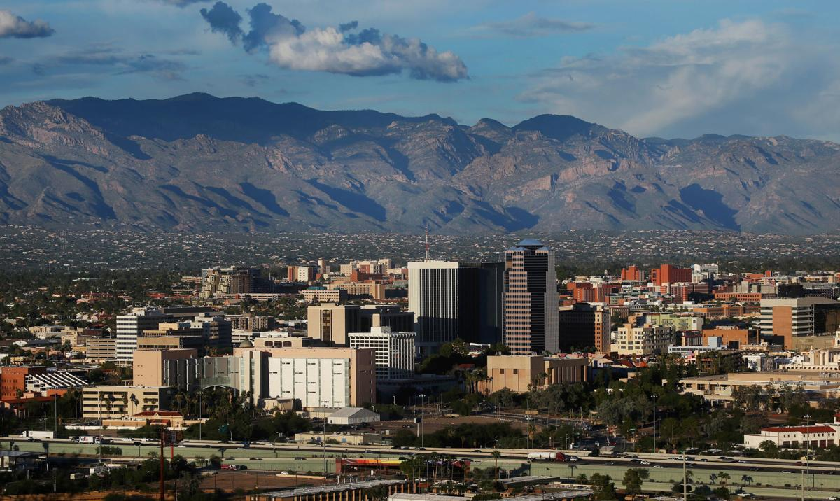 Picture of Tucson and Catalina Mountains