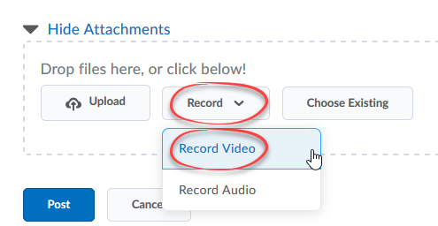 Students: Insert Media In Your Discussion Threads   D2L Help